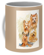Yorkshire Terrier W/ghost Coffee Mug