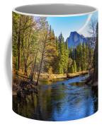 Yosemite Merced River With Half Dome Coffee Mug