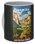 Yosemite Park Vintage Poster Coffee Mug