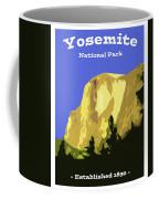 Yosemite Poster Coffee Mug