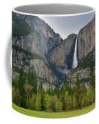 Yosemite Upper And Lower Falls Coffee Mug