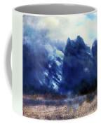 Yosemite Valley Twin Peaks Coffee Mug