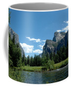 Yosemite Valley View X Coffee Mug