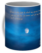 You Are My Moon Coffee Mug