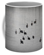 You Better Get Your Ducks In A Row Coffee Mug by Bill Cannon
