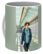 Young American College Student In New York Coffee Mug