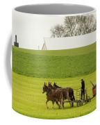 Young Amish Farmer Coffee Mug
