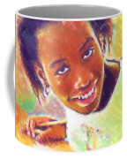 Young Black Female Teen 5 Coffee Mug