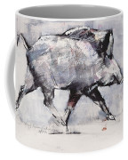 Young Boar Coffee Mug