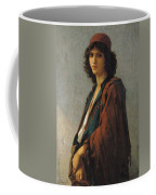 Young Bohemian Serb Coffee Mug by Charles Landelle