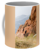 Young Climber In Red Rock Canyon Coffee Mug