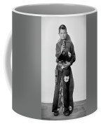 Young Cowboy Aims To Please Coffee Mug