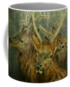 Young Elk Trio- Wapiti Coffee Mug