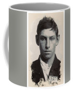 Young Faces From The Past Series By Adam Asar - Asar Studios, No 3 Coffee Mug