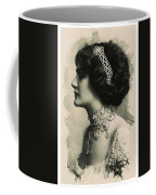 Young Faces From The Past Series By Adam Asar, No 105 Coffee Mug