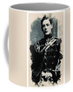 Young Faces From The Past Series By Adam Asar, No 111 Coffee Mug