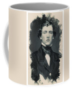 Young Faces From The Past Series By Adam Asar, No 114 Coffee Mug