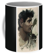 Young Faces From The Past Series By Adam Asar, No 115 Coffee Mug