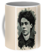 Young Faces From The Past Series By Adam Asar, No 15 Coffee Mug