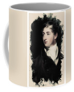 Young Faces From The Past Series By Adam Asar, No 16 Coffee Mug