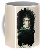 Young Faces From The Past Series By Adam Asar, No 22 Coffee Mug