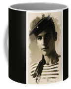 Young Faces From The Past Series By Adam Asar, No 39 Coffee Mug