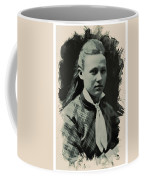 Young Faces From The Past Series By Adam Asar, No 41 Coffee Mug