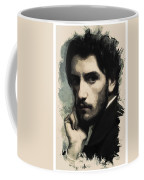 Young Faces From The Past Series By Adam Asar, No 43 Coffee Mug
