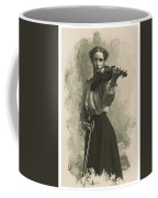 Young Faces From The Past Series By Adam Asar, No 47 Coffee Mug