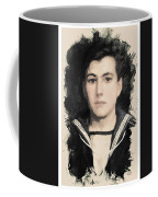 Young Faces From The Past Series By Adam Asar, No 48 Coffee Mug