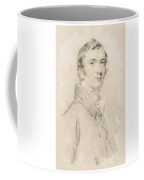 Young Faces From The Past Series By Adam Asar, No 50 Coffee Mug