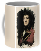 Young Faces From The Past Series By Adam Asar, No 57 Coffee Mug