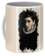 Young Faces From The Past Series By Adam Asar, No 59 Coffee Mug