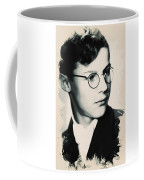 Young Faces From The Past Series By Adam Asar, No 60 Coffee Mug
