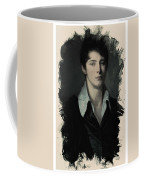 Young Faces From The Past Series By Adam Asar, No 62 Coffee Mug