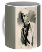 Young Faces From The Past Series By Adam Asar, No 63 Coffee Mug