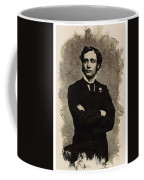 Young Faces From The Past Series By Adam Asar, No 65 Coffee Mug