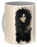 Young Faces From The Past Series By Adam Asar, No 68 Coffee Mug