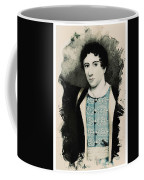 Young Faces From The Past Series By Adam Asar, No 71 Coffee Mug