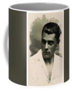 Young Faces From The Past Series By Adam Asar, No 73 Coffee Mug