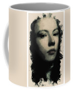 Young Faces From The Past Series By Adam Asar, No 75 Coffee Mug