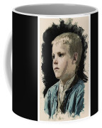 Young Faces From The Past Series By Adam Asar, No 77 Coffee Mug