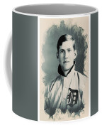 Young Faces From The Past Series By Adam Asar, No 78 Coffee Mug