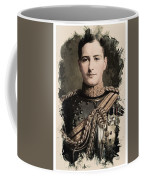 Young Faces From The Past Series By Adam Asar, No 8 Coffee Mug
