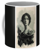 Young Faces From The Past Series By Adam Asar, No 82 Coffee Mug