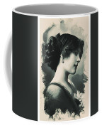 Young Faces From The Past Series By Adam Asar, No 85 Coffee Mug