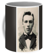 Young Faces From The Past Series By Adam Asar, No 96 Coffee Mug