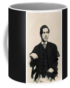 Young Faces From The Past Series By Adam Asar, No 97 Coffee Mug