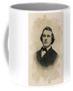 Young Faces From The Past Series By Adam Asar, No 99 Coffee Mug