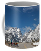 Young Family Bicycling Coffee Mug
